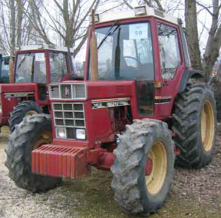 Tracteur agricole case ih 745 xl 1982 for Case agricole