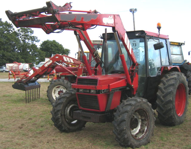 Tracteur agricole case ih 743 1991 for Case agricole