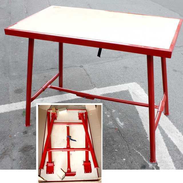 etabli virax 200910 pliant 108 cm. Black Bedroom Furniture Sets. Home Design Ideas