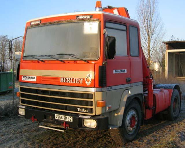 Camion Berliet Tr 305 1980