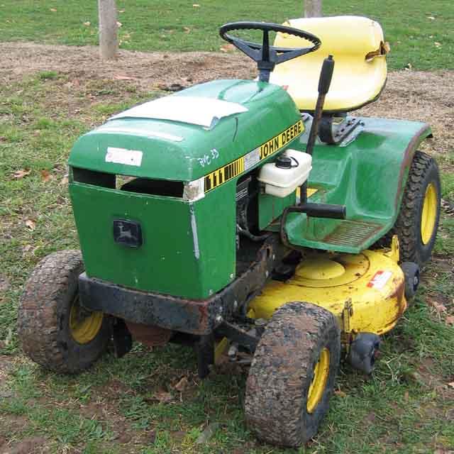 Tondeuse autoportee john deere 111 - Tracteur tondeuse john deere occasion ...