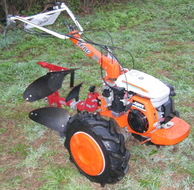 Motoculteur kubota tf60 - Motoculteur avec charrue ...