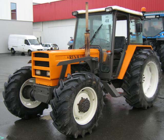 tracteur agricole renault 751 4 rm 4 rm. Black Bedroom Furniture Sets. Home Design Ideas