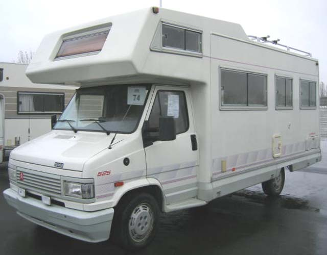camping car autostar 525 gtx 25 td da 25 td da 1993. Black Bedroom Furniture Sets. Home Design Ideas