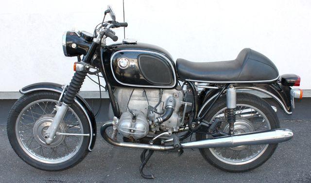 moto bmw r60 5 600 cm3 1970. Black Bedroom Furniture Sets. Home Design Ideas