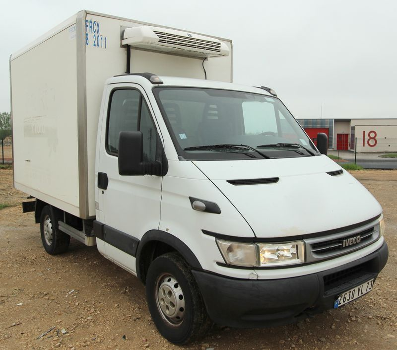 camion refrigere iveco daily 35s12 23 hpi thermo king v200 max 404a 10 m3 2006. Black Bedroom Furniture Sets. Home Design Ideas