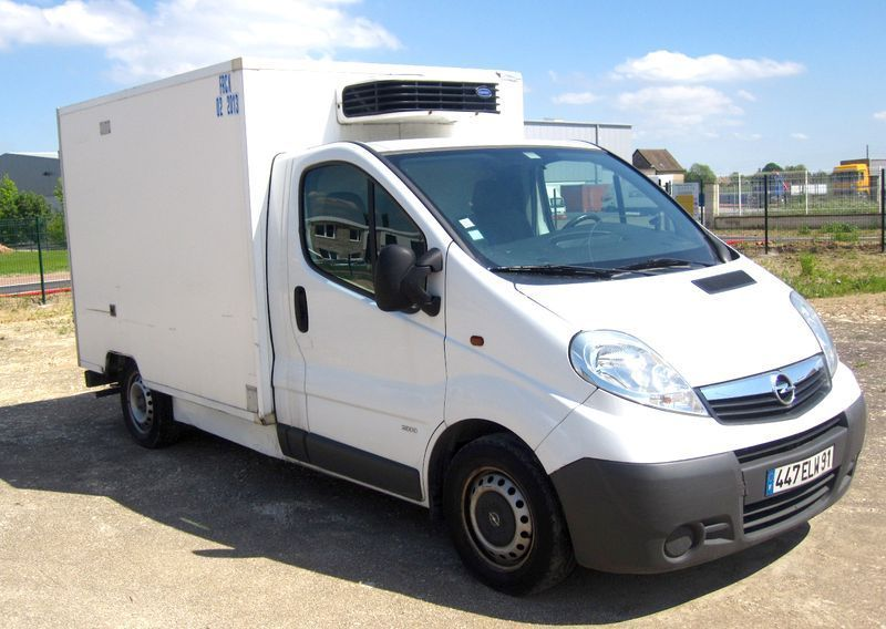 camion refrigere opel vivaro 19d carier xarios 200 7 m3 2007. Black Bedroom Furniture Sets. Home Design Ideas