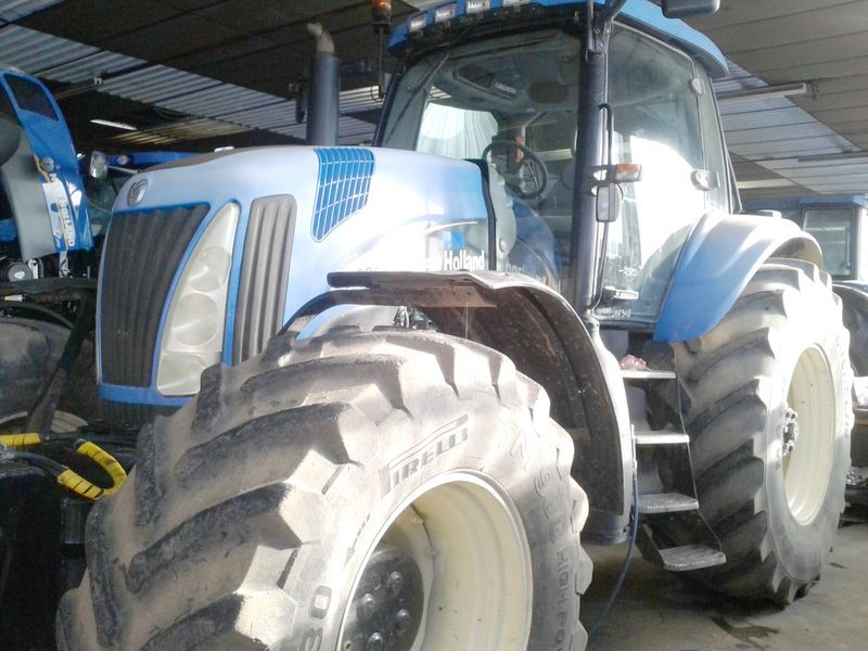 tracteur agricole new holland tg 255 4x4 2003. Black Bedroom Furniture Sets. Home Design Ideas