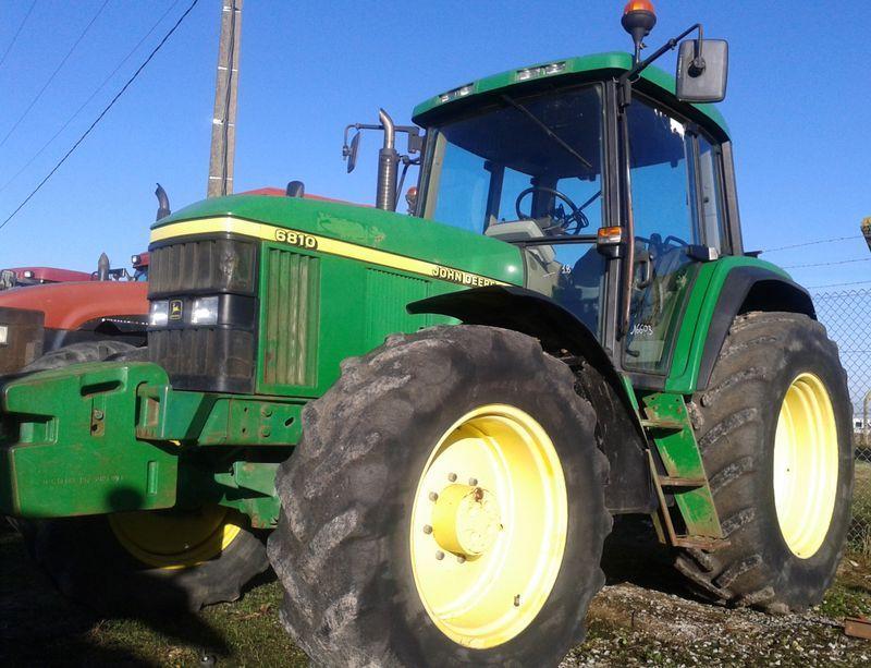 tracteur agricole john deere 6810 4x4 2001. Black Bedroom Furniture Sets. Home Design Ideas