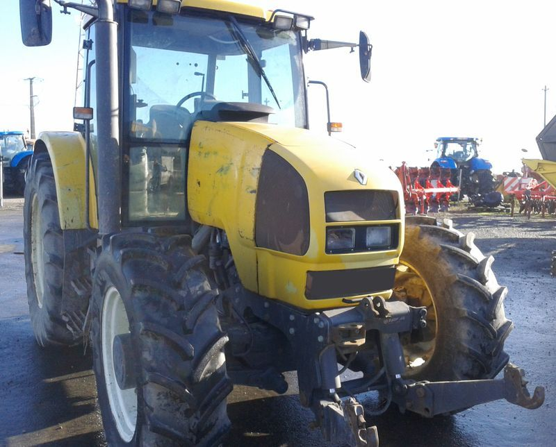 tracteur agricole renault ares 546 4x4 2003. Black Bedroom Furniture Sets. Home Design Ideas