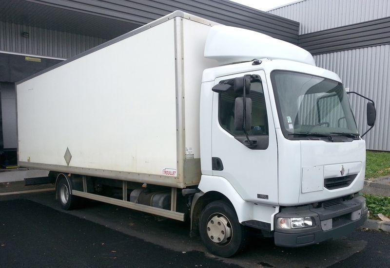 camion porteur renault midlum 18012b dci porteur 2002. Black Bedroom Furniture Sets. Home Design Ideas