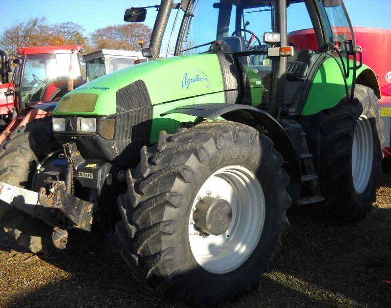 tracteur agricole deutz fahr agrotron 160 4x4 2001. Black Bedroom Furniture Sets. Home Design Ideas