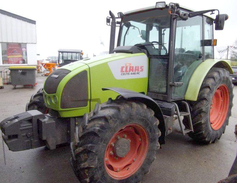 tracteur agricole claas celtis 446 4x4 2006. Black Bedroom Furniture Sets. Home Design Ideas
