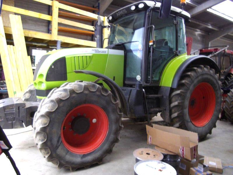 tracteur agricole claas ares 697 atz 4x4. Black Bedroom Furniture Sets. Home Design Ideas