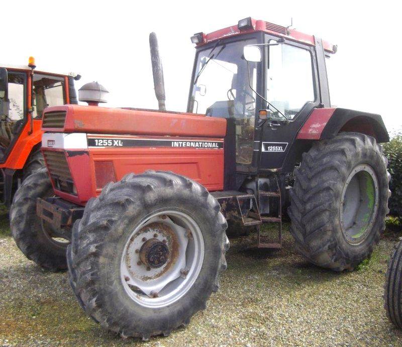 Tracteur agricole case ih 1255 xl 4x4 1992 for Case agricole