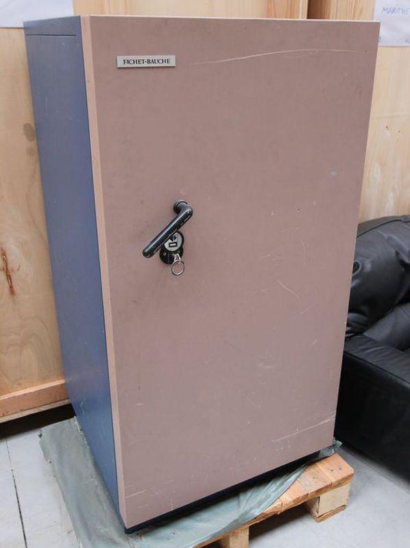 fichet bauchet coffre fort ignifuge modele s60 632 kg vendu avec sa clef dimensions 140 x 73 x 76 cm. Black Bedroom Furniture Sets. Home Design Ideas