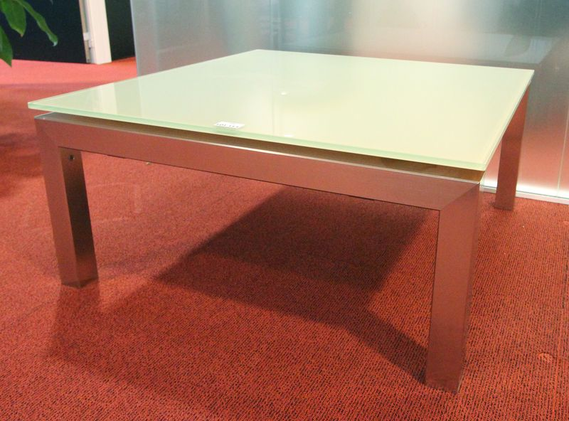 table verre opaque