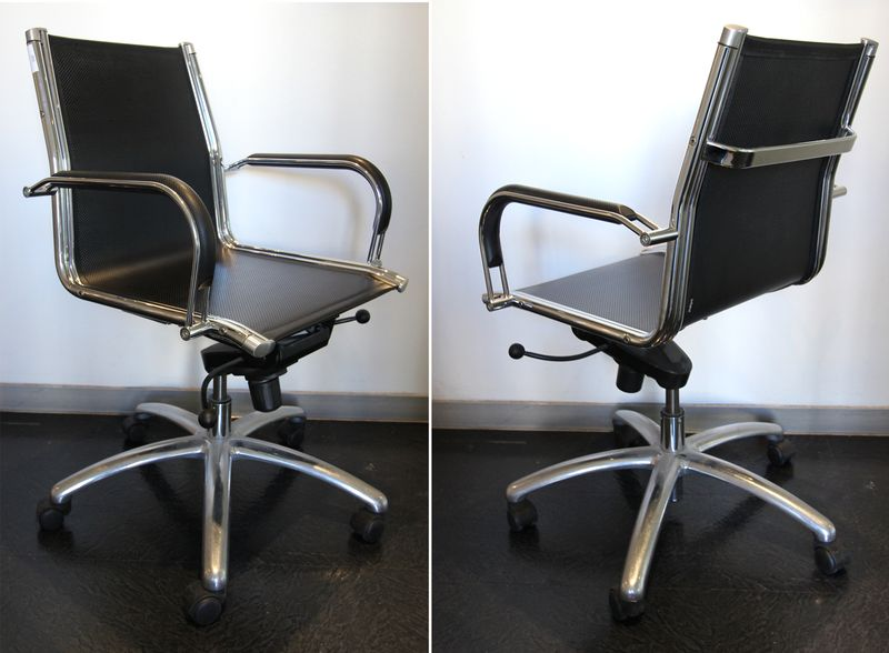 Ray et charles eames dans le gout de fauteuil de bureau de for Fauteuil bureau charles eames
