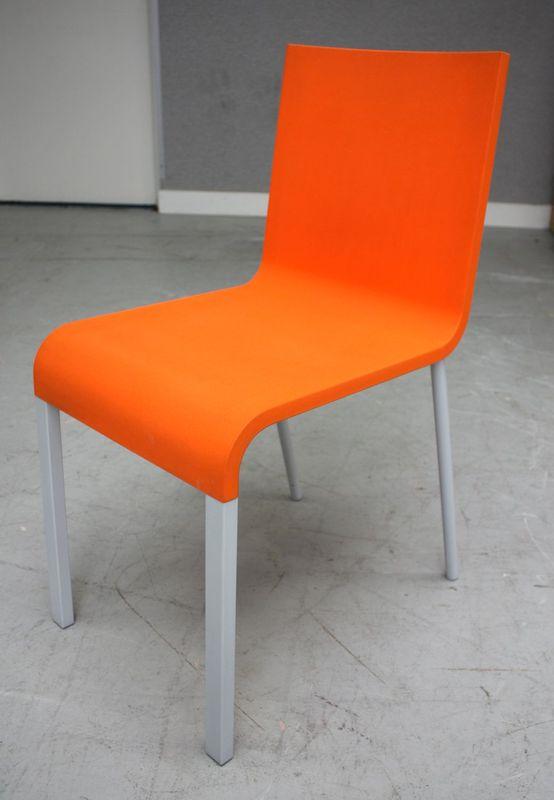 Martin van severen edition vitra chaise 03 en polyurethane for Chaise haute vitra