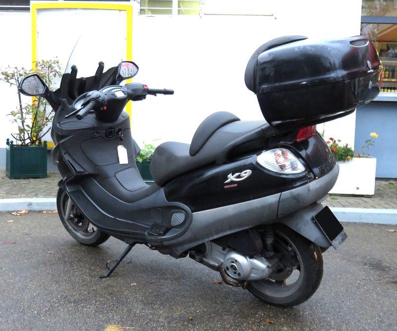 scooter piaggio x9 evolution 125 125 cm3 2007. Black Bedroom Furniture Sets. Home Design Ideas