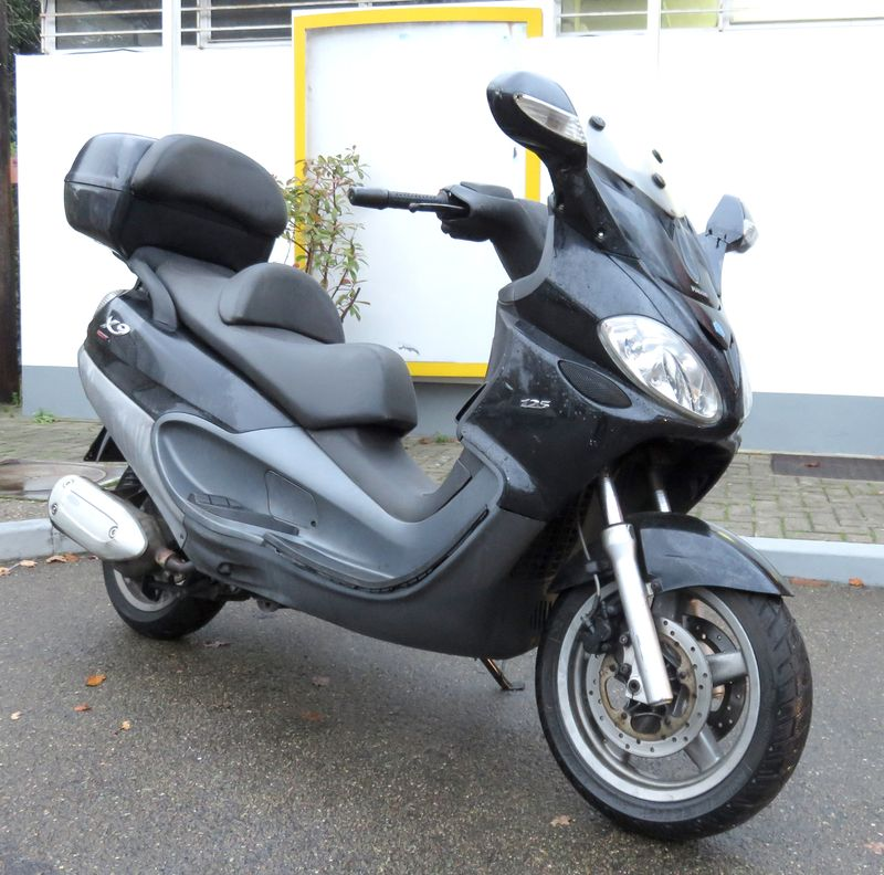 scooter piaggio x9 evolution 125 125 cm3 2007. Black Bedroom Furniture Sets. Home Design Ideas