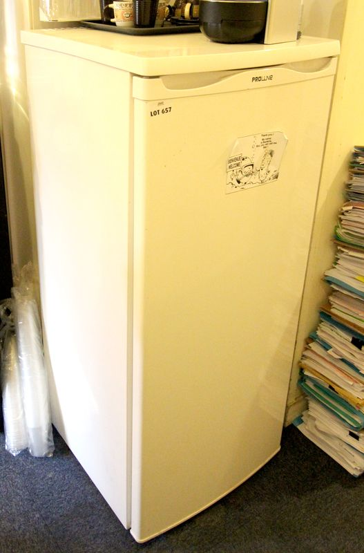 refrigerateur de marque proline avec compartiment. Black Bedroom Furniture Sets. Home Design Ideas