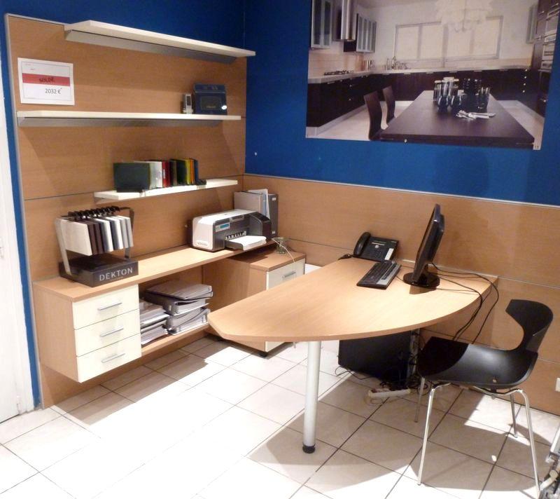 Ensemble mobilier pour bureau schmidt modele apagio for Ensemble bureau etagere