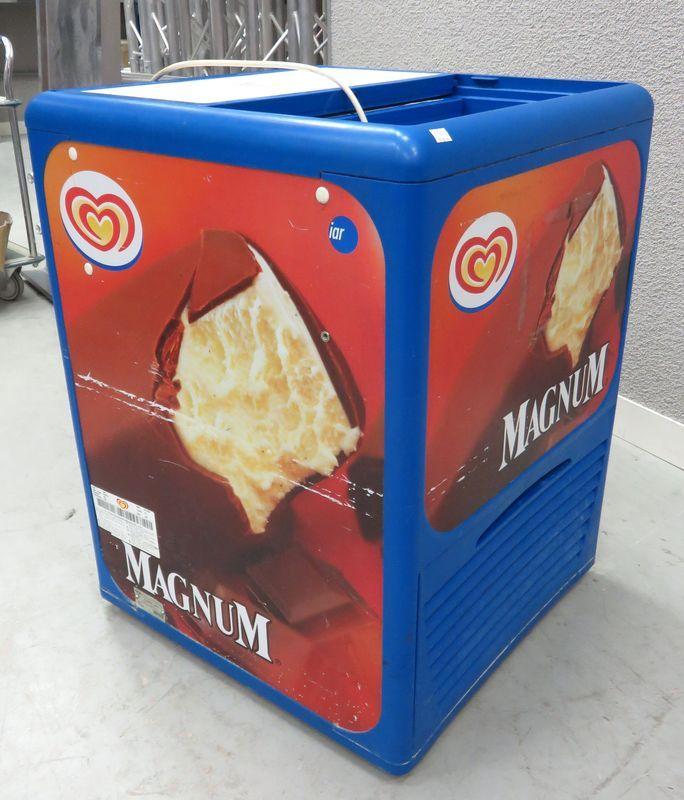 Congelateur coffre avec porte coulissante dim hauteur 89 for Prix d un congelateur