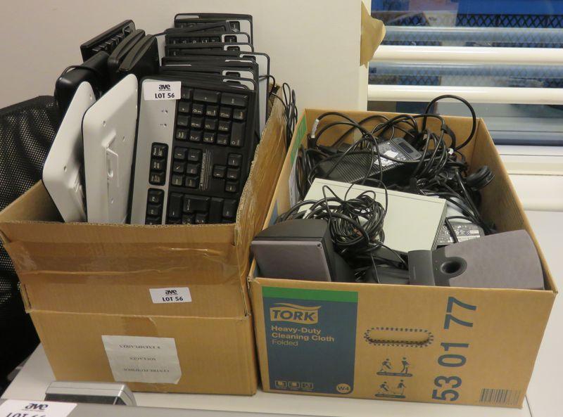 21 claviers informatique on y joint des stations daccueil des alimentations diverses et 1 switch et. Black Bedroom Furniture Sets. Home Design Ideas