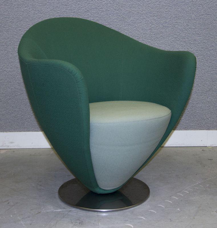 Lot 1507 5 unites fauteuil mon petit coeur en demi corolle for Petit fauteuil vert