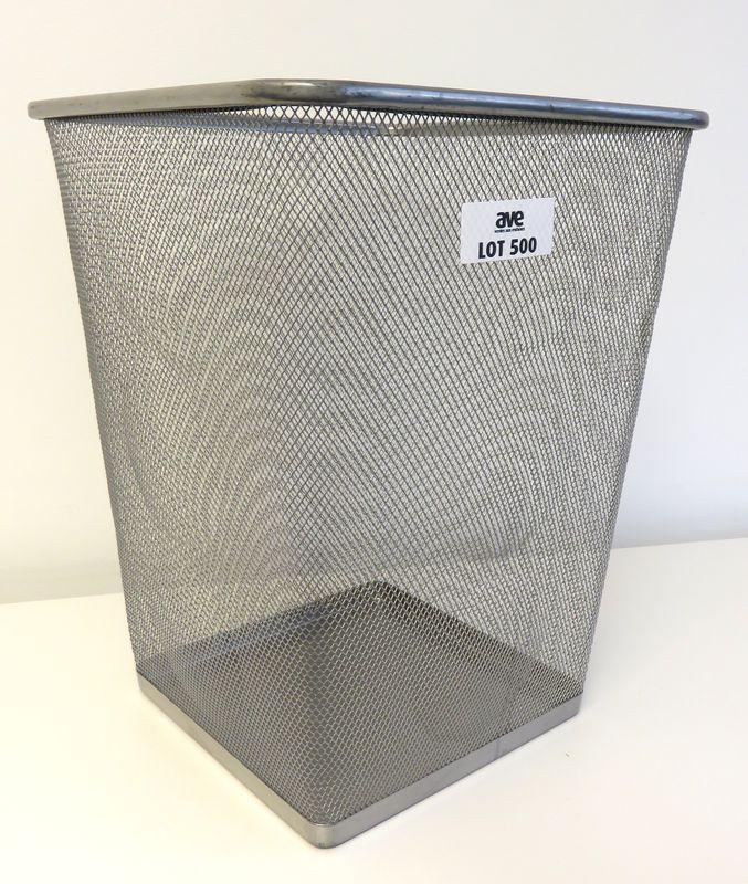 lot 500 60 poubelles corbeille a papier de marque ikea modele dokument en acier grillage de forme c. Black Bedroom Furniture Sets. Home Design Ideas