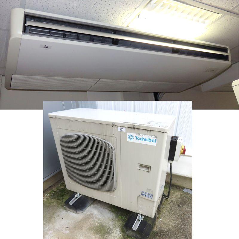climatisation reversible de marque technibel vendue avec son groupe exterieur de marque technibel m. Black Bedroom Furniture Sets. Home Design Ideas