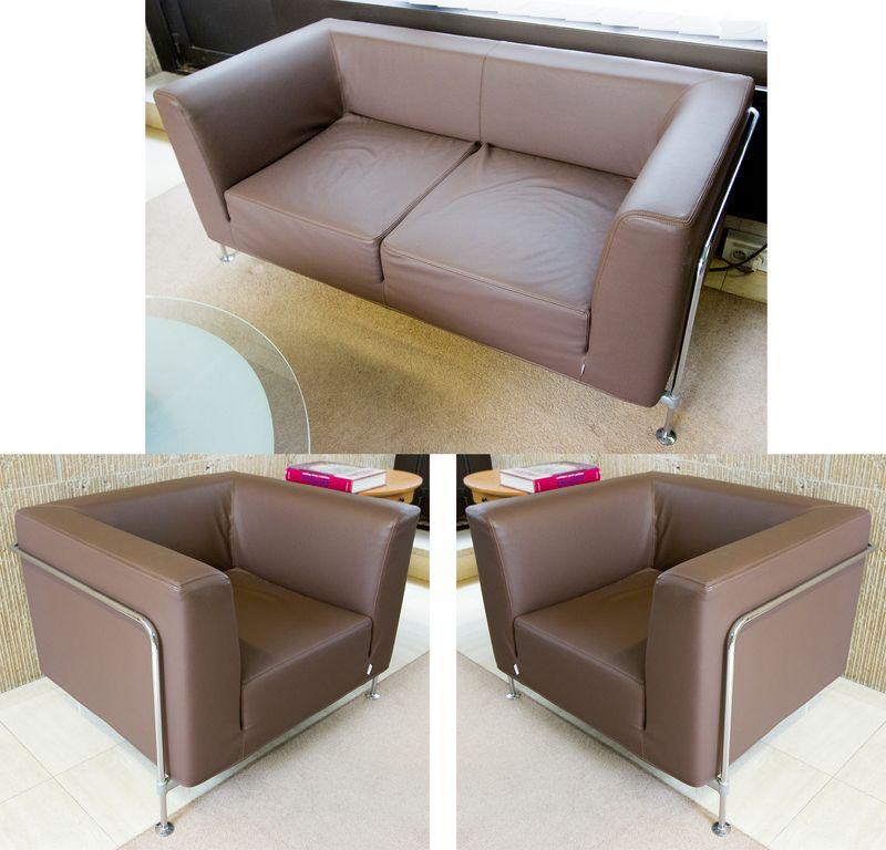 Canape deux places et deux fauteuils de marque felice - Fauteuil deux places ...