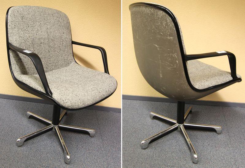 Paire de fauteuils de bureau pivotant de marque strafor for Bureau edf 64