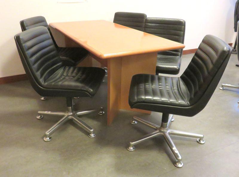 7 fauteuils de bureau de marque eurosit dont 2 avec accotoirs pietement aluminium a cinq branches s - Fauteuil de bureau 200 kg ...