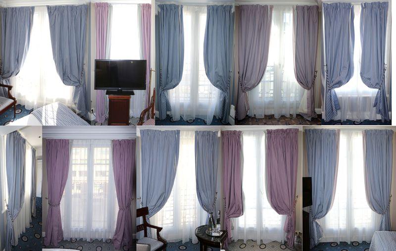 double rideaux violet double rideau jacquard rayures satines with double rideaux violet finest. Black Bedroom Furniture Sets. Home Design Ideas