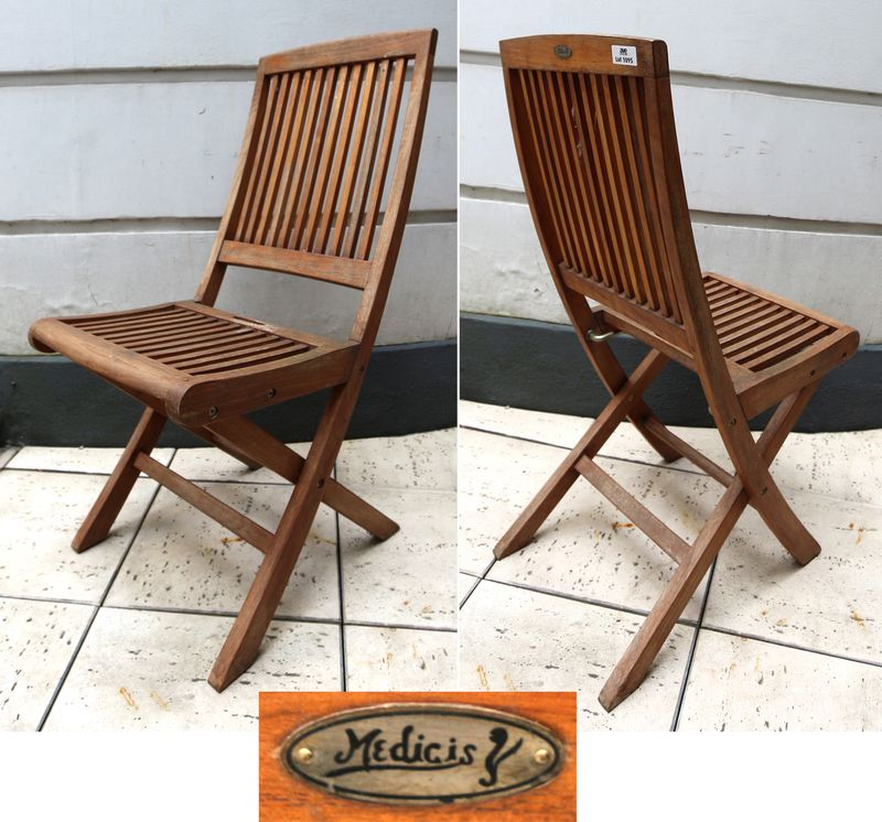 lot-1095-18-unites-chaise-de-jardin-en-teck-pliante-de-marque ...