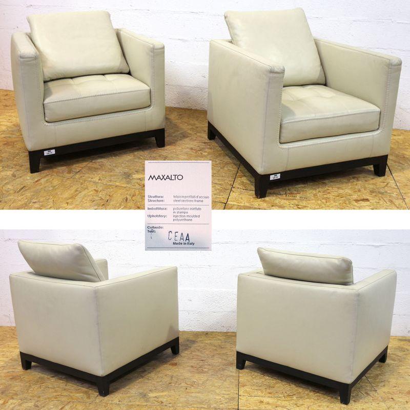 antonio-citterio-1950-paire-de-fauteuil-de-salon-modele-lutetia ...