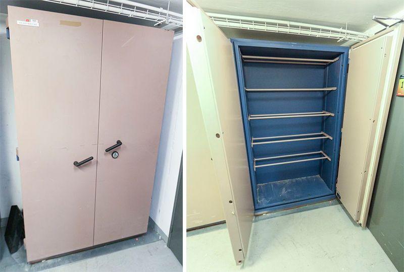 armoire forte de marque fichet bauche modele s60p 750 kg. Black Bedroom Furniture Sets. Home Design Ideas