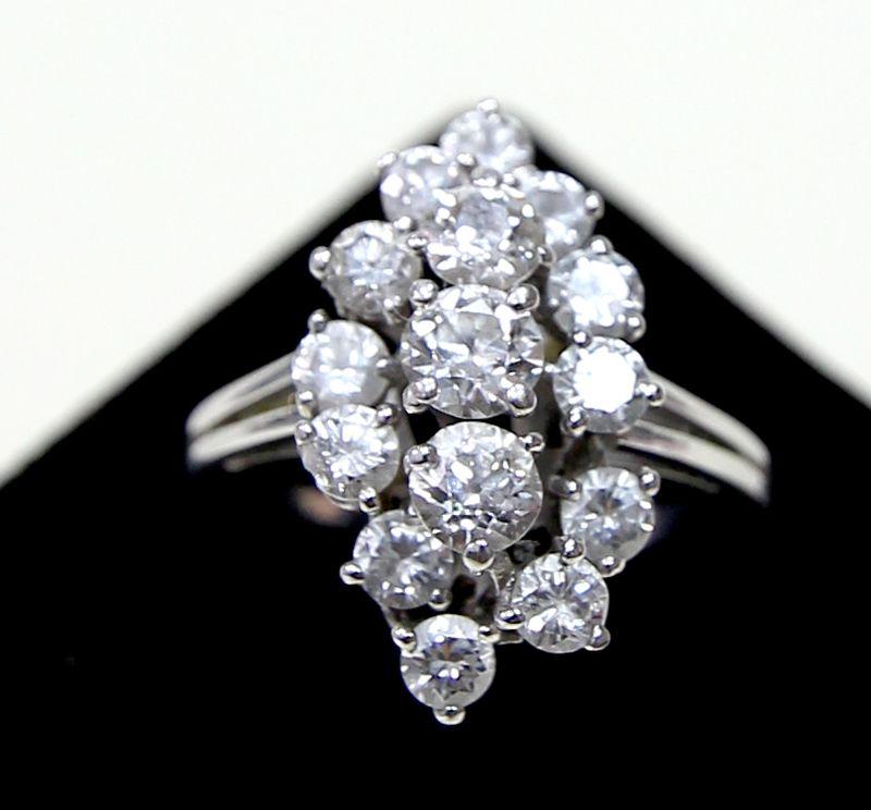 bague diamant monture ancienne