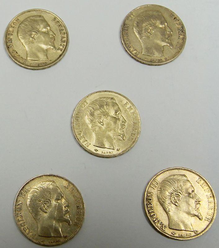 5-pieces-de-20-francs-or-profil-de-napoleon-iii-tete-nue