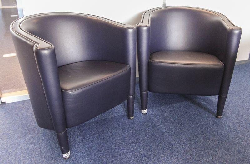 lot 55 1 unite fauteuils club de marque moroso modele rich designer