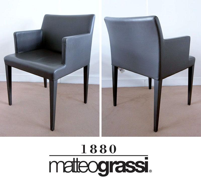 4-unites-fauteuil-edition-matteo-grassi-dossier-assise-et-pietement ...
