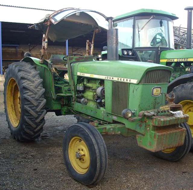 tracteur agricole john deere 3120 2 rm 2 rm 1971. Black Bedroom Furniture Sets. Home Design Ideas