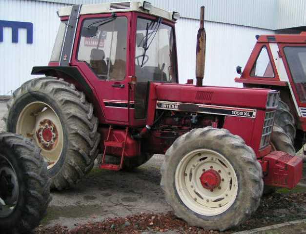 Tracteur agricole case ih 1055 xl 100cv 4rm 4rm 1982 for Case agricole